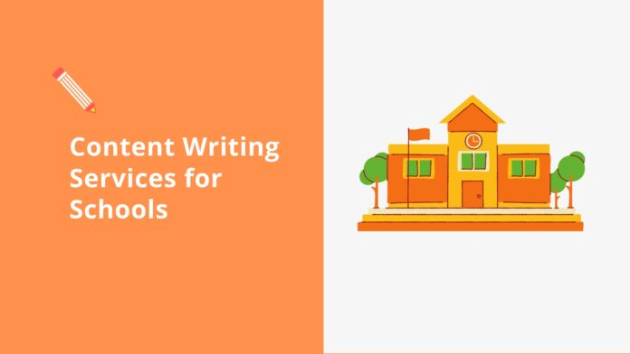 Content Writing Services for Schools